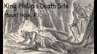 King Philip's Death Site - Bristol, Rhode Island - Travels With Phil