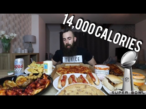 The 14,000 Calorie Super Bowl Game Day Feast | BeardMeatsFood