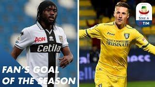 Fan's Goal of the Season | Group A | Serie A