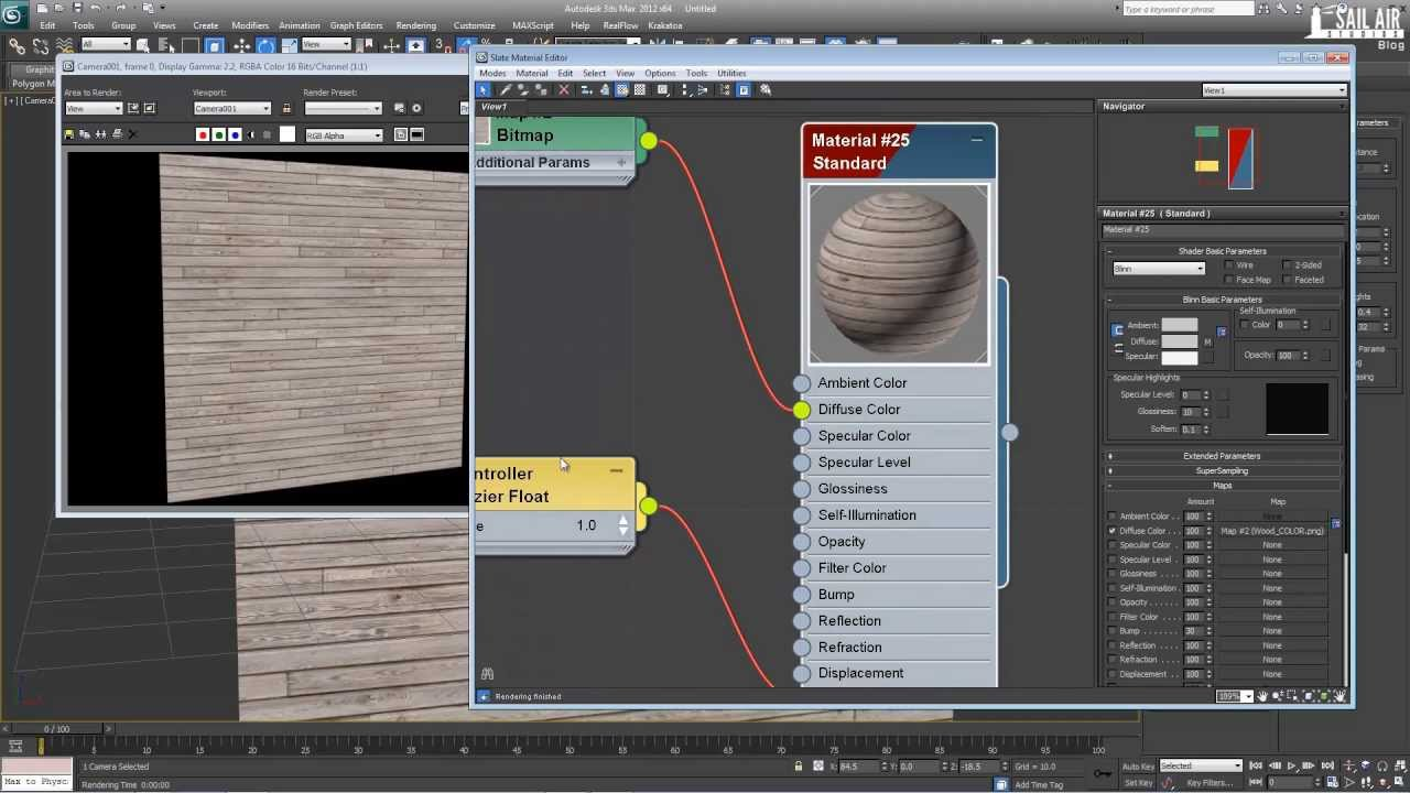 Tutorial - 3Ds Max Fundamentals - Basic Material Map Types