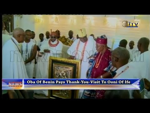 Benin Monarch pays thank-you visit to Ooni of Ife, Gov. Aregbesola