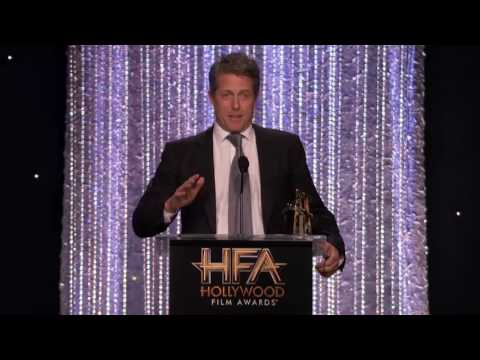 Andie MacDowell Presents Supporting Actor to Hugh Grant - Hollywood Film Awards 2016