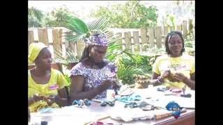 Cameroonian women make money from going green