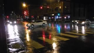 Rainy night - Nikon AW110 low light sample video