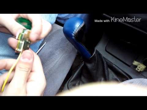 Как поменять прикуриватель на ваз 2112
