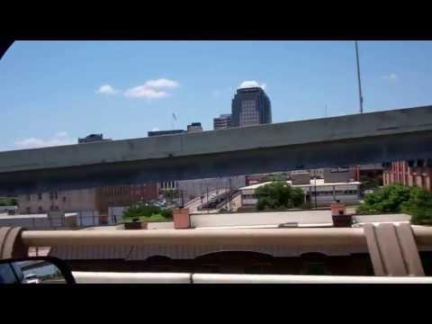 Downtown Shreveport, La from I-20
