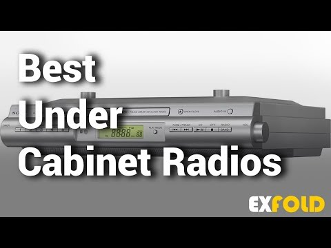 6 Best Under Cabinet Radios With Review & Details  - Which Is The Best Cabinet Radio? - 2019