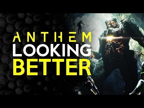 Anthem is.... Looking Pretty Good