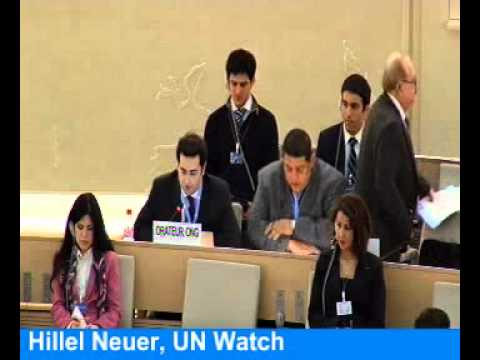 Mideast aflame, UN rights council singles out Israel