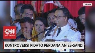 Video Kontroversi Pidato Perdana Anies - Sandi, Gubernur Anies Baswedan Sebut Kata Istilah Pribumi download MP3, 3GP, MP4, WEBM, AVI, FLV Desember 2017