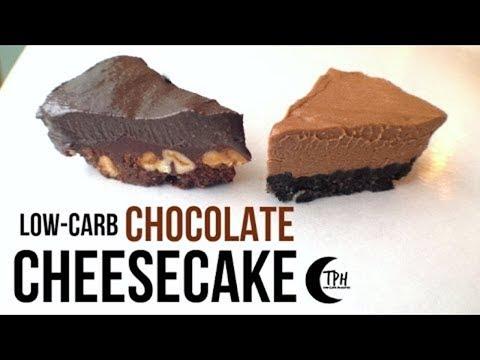 keto-chocolate-no-bake-cheesecake-|-low-carb-chocolate-cheesecake-recipe