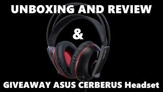 ASUS CERBERUS Gaming Headset review + giveaway