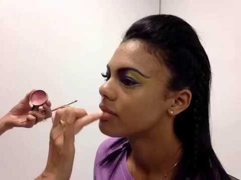 Minnesota Vikings Makeup Tutorial Female
