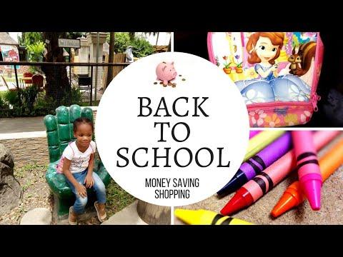 BACK TO SCHOOL | MONEY-SAVING SHOPPING | LAGOS VLOG