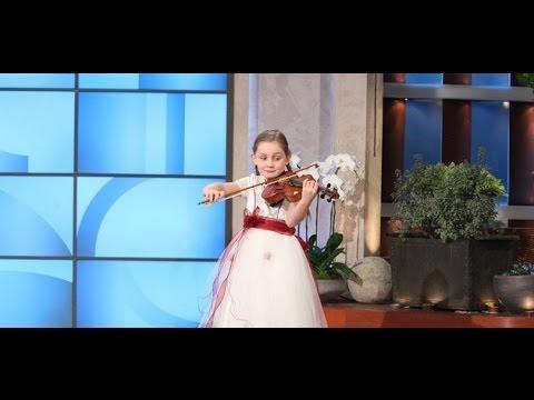 Alma Deutscher, 8-Year-Old Music Prodigy on Ellen show