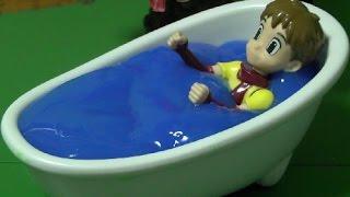 또봇 장난감 목욕놀이 Tobot Toys Bath Time
