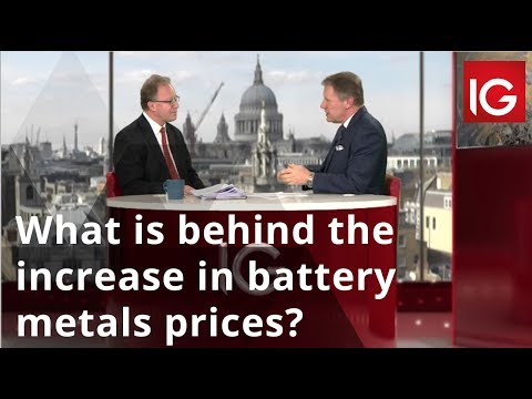 What is behind the increase in battery metals prices?