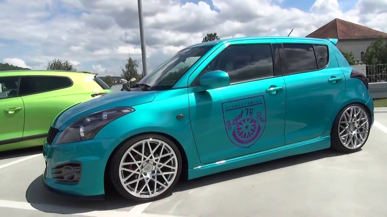 2015 suzuki swift sport royal 76 inc turquoise turboday. Black Bedroom Furniture Sets. Home Design Ideas