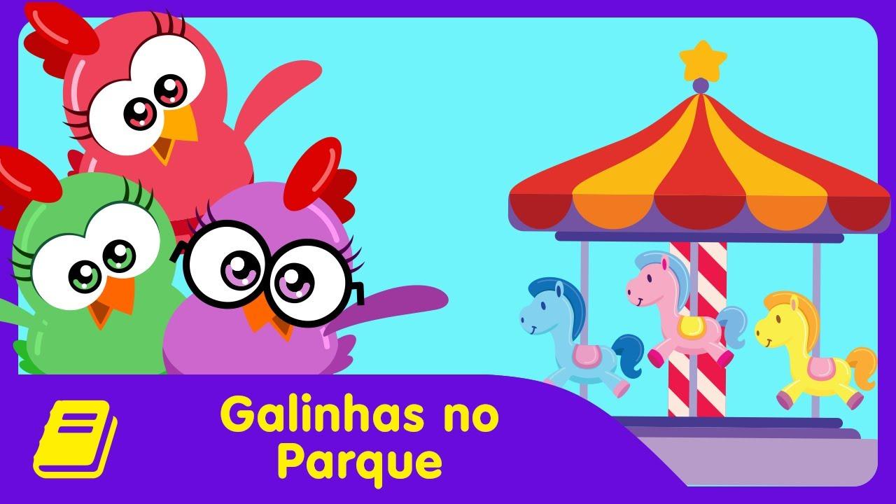 Galinha Pintadinha Mini Historinha Galinhas No Parque Youtube