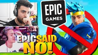 Ninja Reveals How His Skin Was ALMOST CANCELLED! (Fortnite Battle Royale)