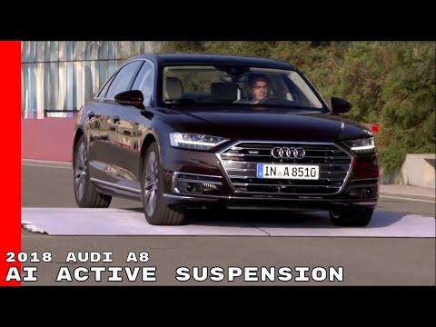 2018 Audi A8 AI Active Suspension