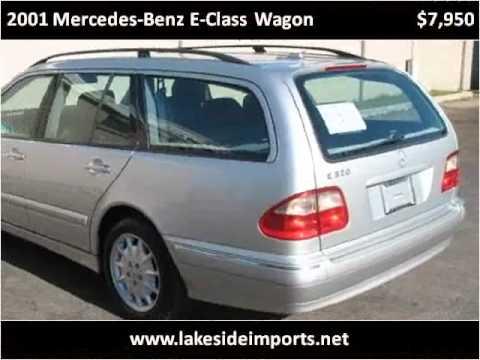 2001 Mercedes Benz E Class Wagon Used Cars Mobile AL