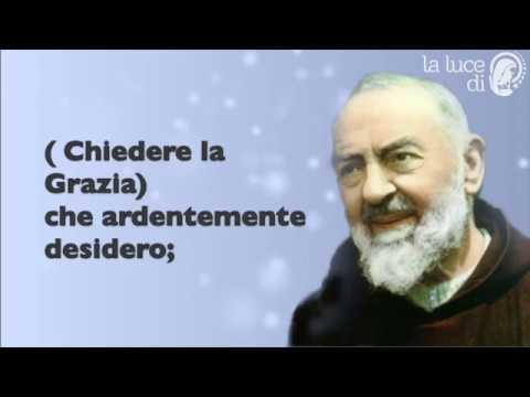 Preghiera a San Pio da Pietralcina per chiedere una grazia.
