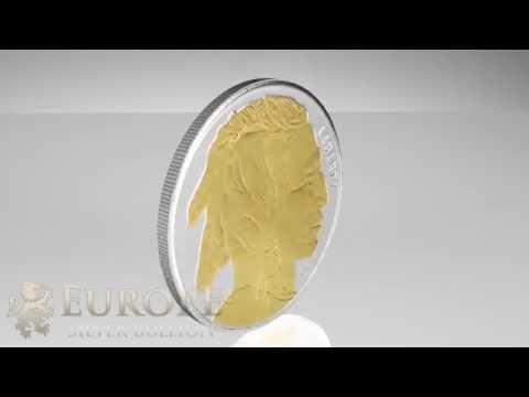 1oz American Buffalo Gold Gilded