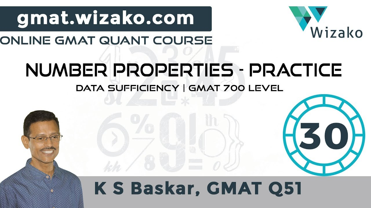 GMAT DS Number Theory | Prime Numbers | Wizako GMAT online