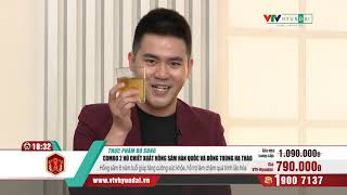 [VTV-HYUNDAI]HANSUSAM-1hộp chiết xuất Hồng sâm Đông trùng+20hồng sâm nhung hươu+hộp kẹo hồng sâm200g