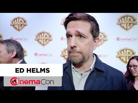 Bastards | Ed Helms Interview | CinemaCon 2017