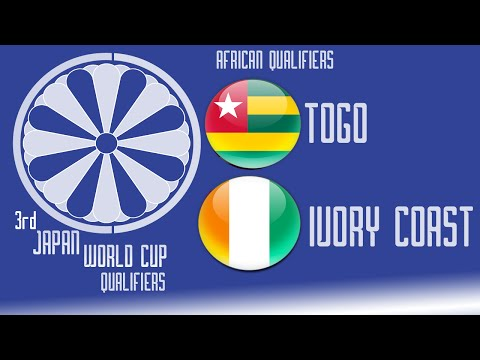 Togo vs Ivory Coast - FIFA14 - 3rd Japan World Cup Qualifiers