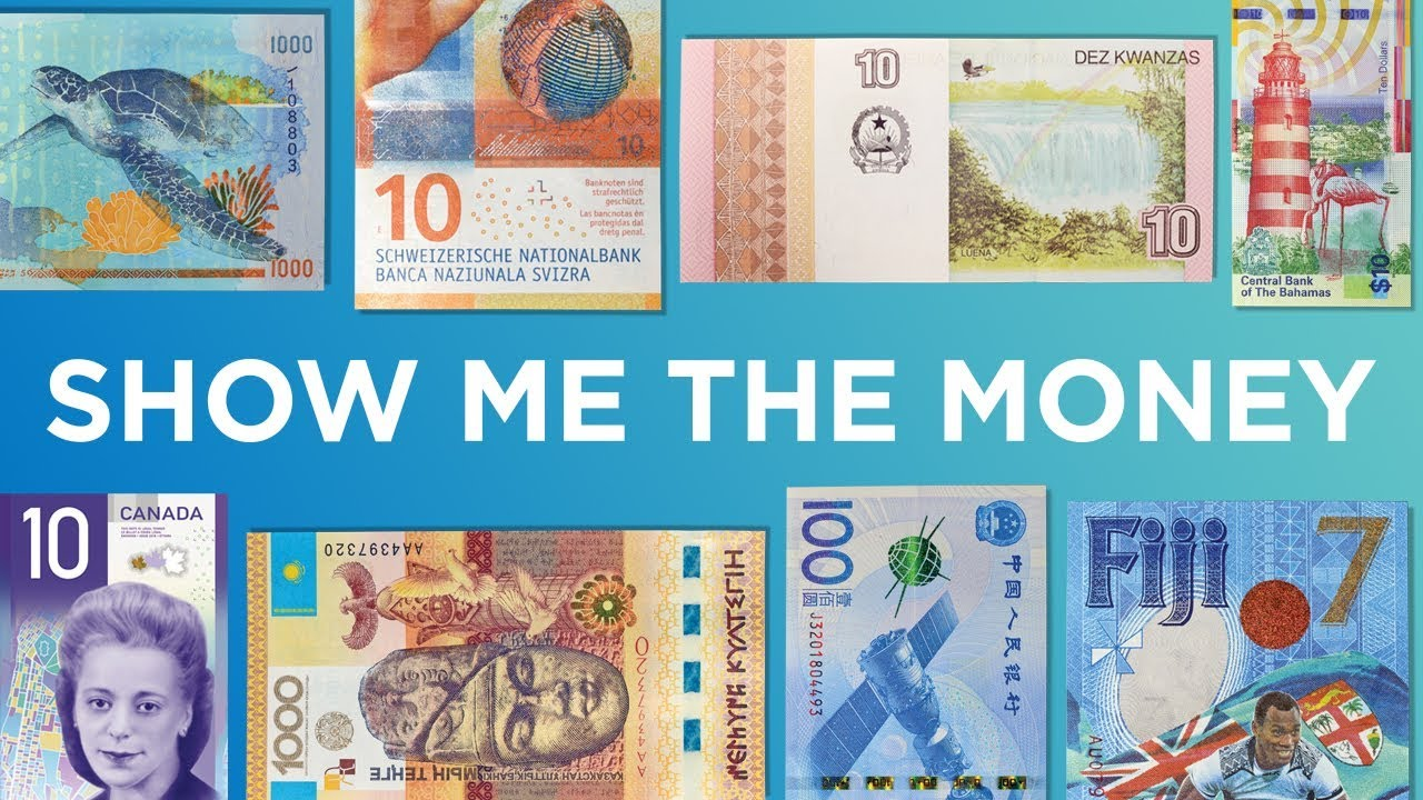 Show me the money: Award-winning banknotes across the world