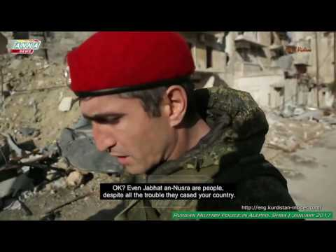Syria: Russian Military Police Protecting Aleppo's Citizens