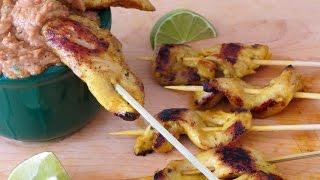 Chicken Satay Recipe -- The Frugal Chef