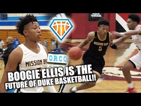 DUKE BASKETBALL Commit Boogie Ellis is a PROBLEM!! | Battle Zone Highlights