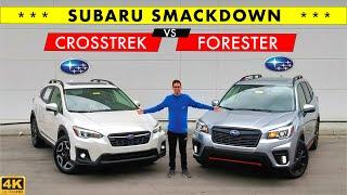 BEST SUBARU?? -- 2020 Subaru Forester vs. 2020 Subaru Crosstrek: Comparison