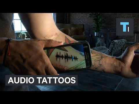 Thumbnail: These tattoos hide audio messages in your skin