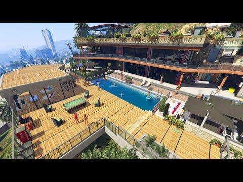 GTA 5 FRANKLIN'S NEW MANSION HOUSE UPGRADE (GTA 5)