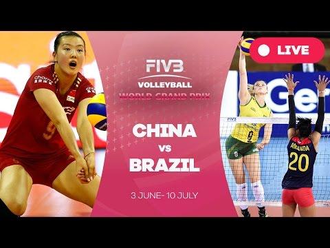 China v Brazil - Group 1: 2016 FIVB Volleyball World Grand Prix