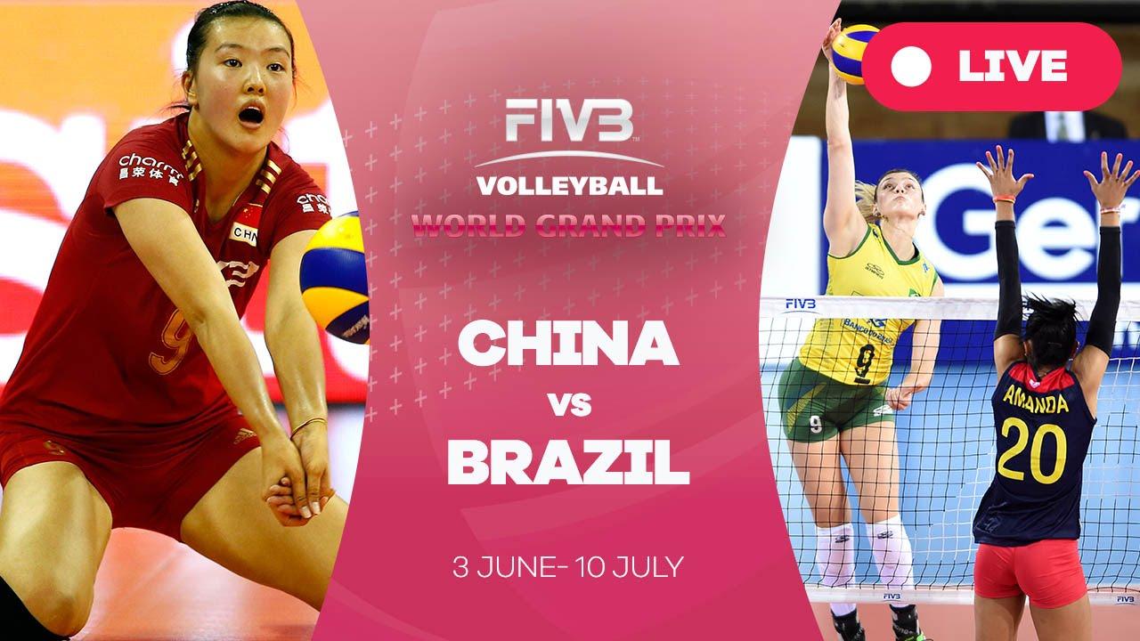 China V Brazil Group   Fivb Volleyball World Grand Prix Youtube