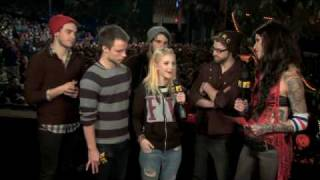 Paramore talks about New Moon at the Ulalume Festival (2009)