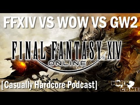 FFXIV vs WOW vs Guild Wars 2 the State of MMOs in 2018 [Casually Hardcore Episode 6] thumbnail