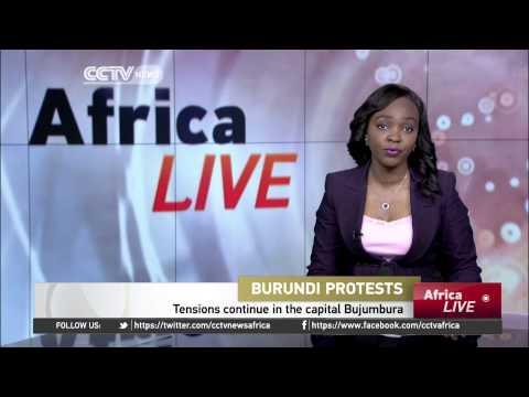 Tensions continue to rise in Burundi's capital Bujumbura