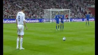England 5 - 1 Kazakhstan - World Cup 2010 Qualifier