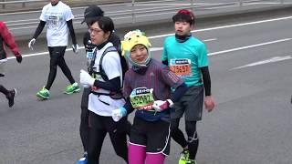 2018/02/25 東京マラソン2018 沿道応援イベント.