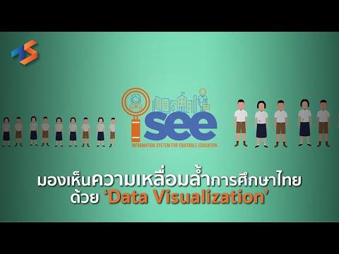 'iSEE' มองเห็นความเหลื่อล้ำการศึกษาไทยด้วย 'Data Visualization'