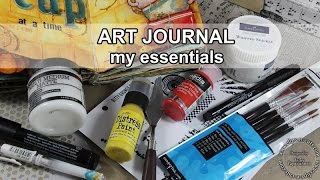 My art Journal essential supplies