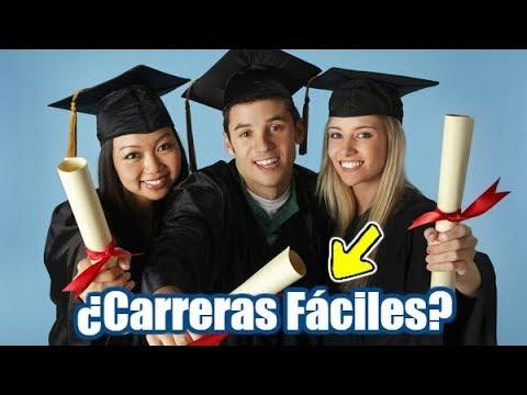Top 10 Carreras Universitarias Más Fáciles Del Mundo   Dato Curioso