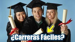Top 10 Carreras Universitarias Más Fáciles Del Mundo | Dato Curioso